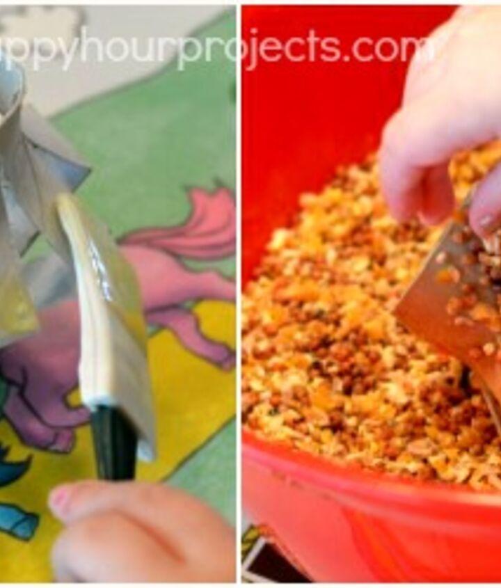Kids Easy Bird Feeder Craft Hometalk