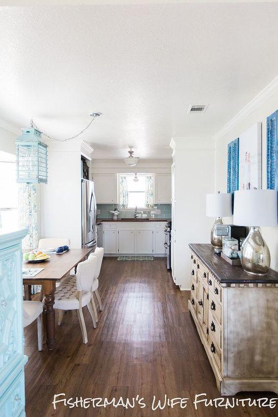 DIY Coastal Kitchen Makeover Hometalk Fascinating Coastal Kitchen Design Decor