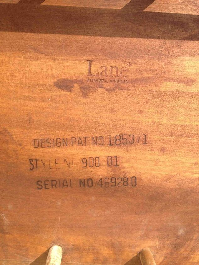 does anyone know about lane furniture, painted furniture, repurposing upcycling