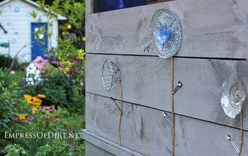 Kitchen Utensils + Old Dishes = Garden Art