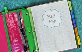 How to Make a Family Meal Plan Binder