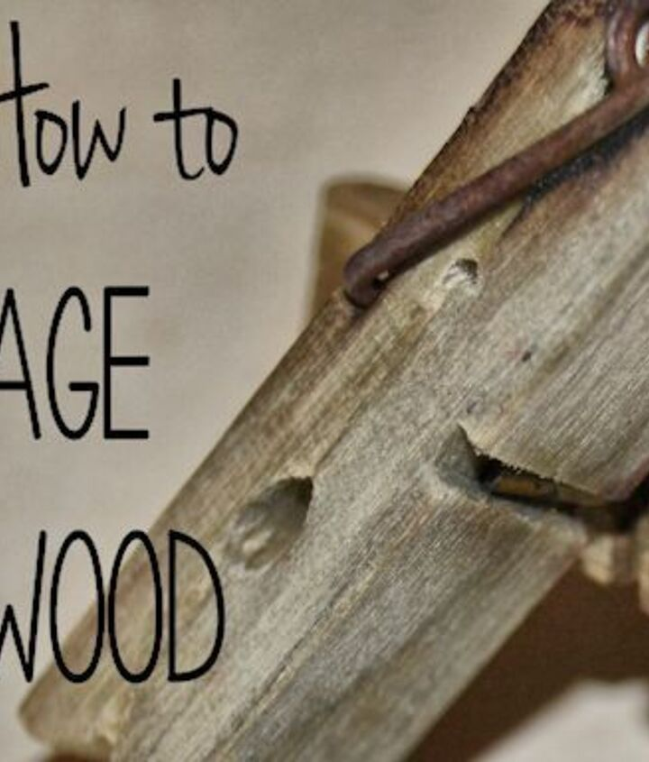how to age wood fast diy, diy, woodworking projects