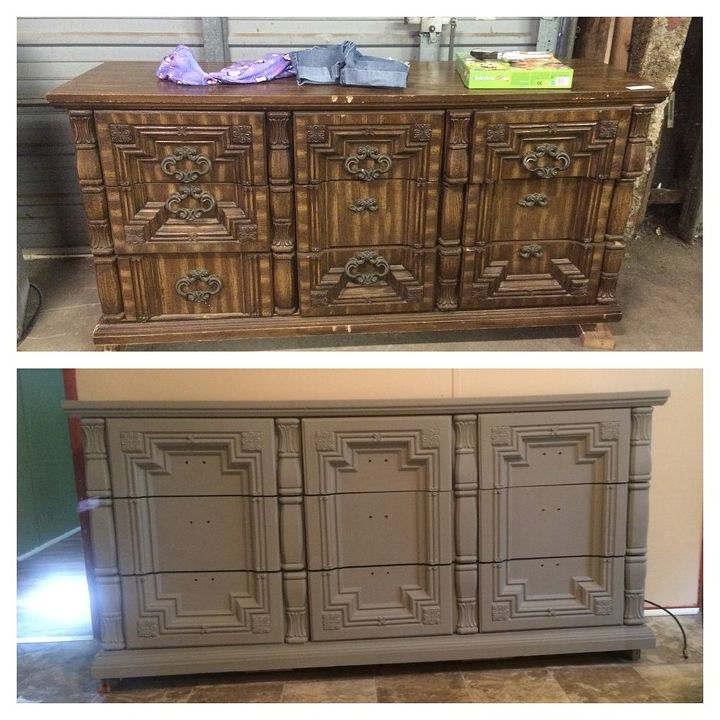 furniture chest refinished antique, painted furniture, repurposing upcycling