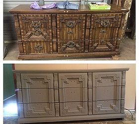 Wonderful Furniture Chest Refinished Antique, Painted Furniture, Repurposing Upcycling