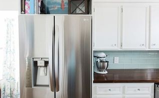 refrigerator enclosure home built, appliances, diy, kitchen cabinets, kitchen design, woodworking projects