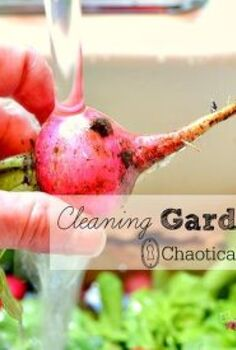 produce cleaning garden natural tips, homesteading