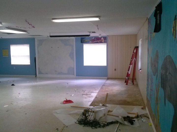 church renovation childrens surprise, home improvement, Before