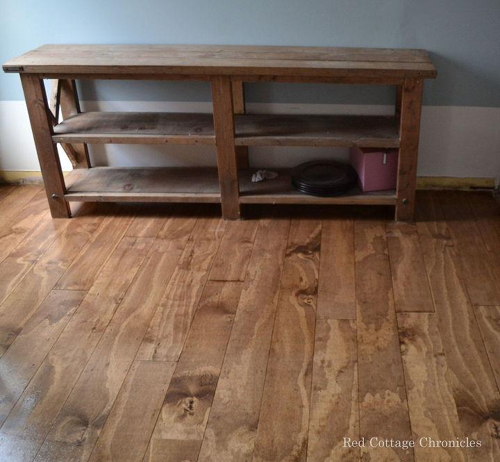 Wood Floor Plywood Redo Hometalk - Faux wood floor plywood flooring