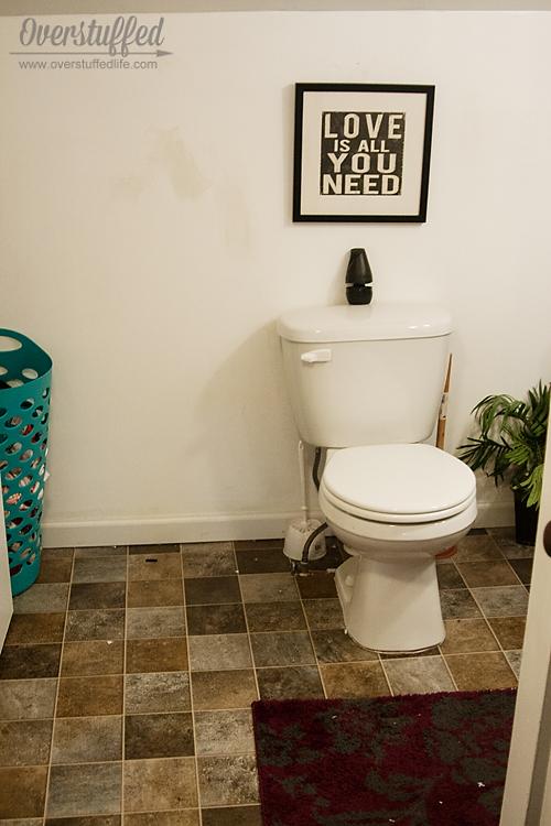 bathroom design easy quick, bathroom ideas, flooring, home improvement, painting, wall decor