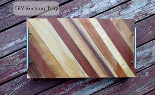 woodworking serving tray tutorial, diy, how to, woodworking projects