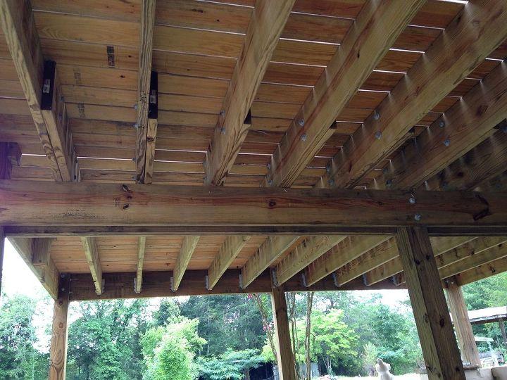 Under Deck Cover Hometalk