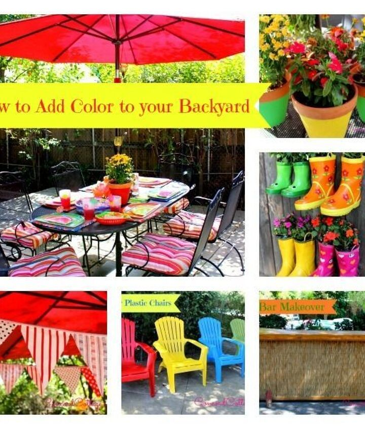 5 Ways To Add Color To Your Backyard Hometalk