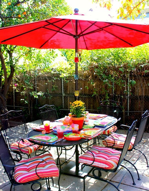Backyard Color Decor Budget Decks Fences Flowers Gardening Outdoor Living