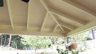 Porch Ceiling Finish Inexpensive Diy Home Improvement Porches Woodworking Projects This