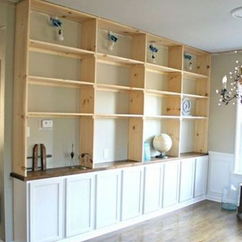 The Best Way To Do Built In Shelves Hometalk