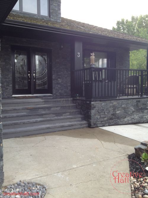 Curb Appeal Added With Exterior Front Renovation Hometalk