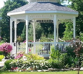 Amazing Gazebo Garden Ontario Wedding, Gardening
