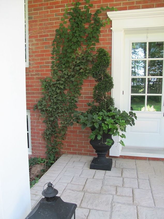 Front Entrance Traditional Outdoor Decor Hometalk