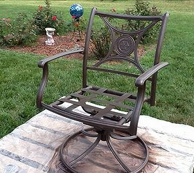 Outdoor Furniture Patio Update, Outdoor Furniture, Painted Furniture, Patio,  After Pic Of