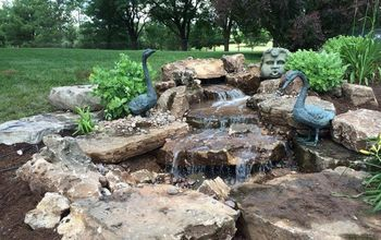 pondless waterfall backyard project, landscape, ponds water features, Beautiful