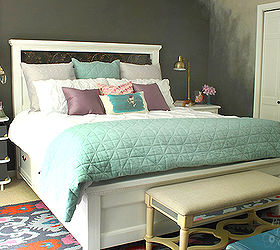 Farmhouse King Size Bed With Storage, Bedroom Ideas, Diy, Storage Ideas,  Woodworking