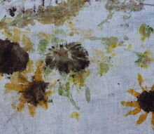 craft fabric prints garden flowers, crafts