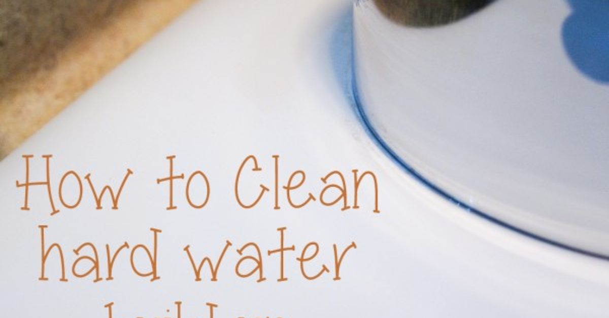 Cleaning Hard Water Spots Naturally | Hometalk