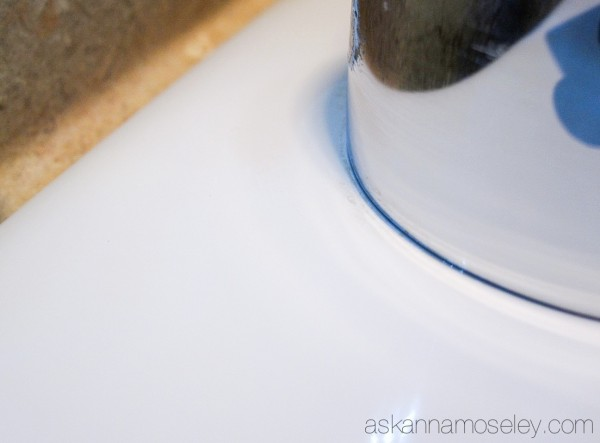 cleaning natural hard water spots, bathroom ideas, cleaning tips, home maintenance repairs