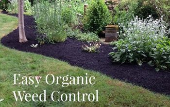 gardening organic weed control paper mulch, gardening, landscape