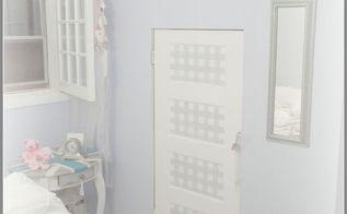 doors painting gingham pattern, bedroom ideas, painting