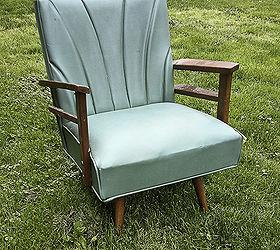 Spray Paint A Vinyl Chair