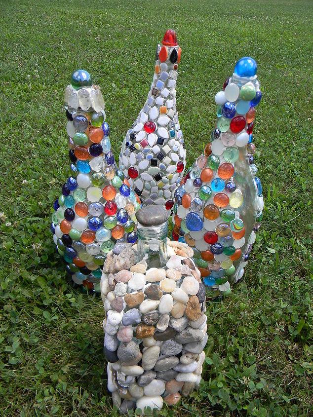Garden Mosaics From Recycled Materials | Hometalk