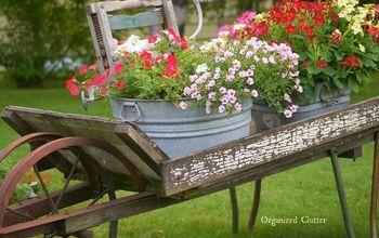 Annuals, Perennial & Junk, An Organized Clutter Garden Tour 2014