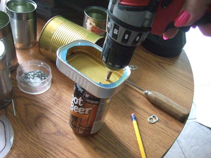 craft tin man upcycle, crafts, gardening, repurposing upcycling