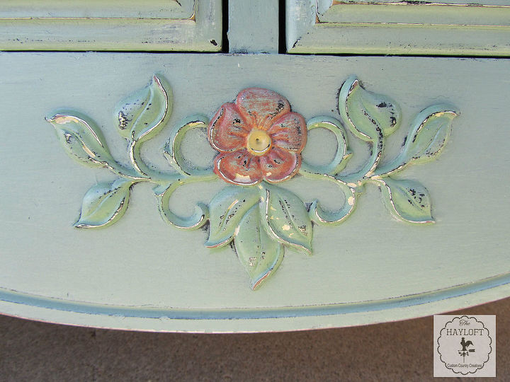 eloquent dresser, painted furniture