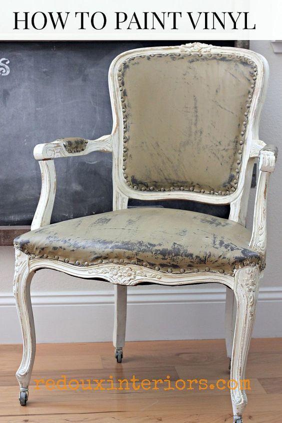 how to paint a vinyl chair hometalk. Black Bedroom Furniture Sets. Home Design Ideas