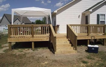 April's Deck - A Project We Recently Completed for My Daughter