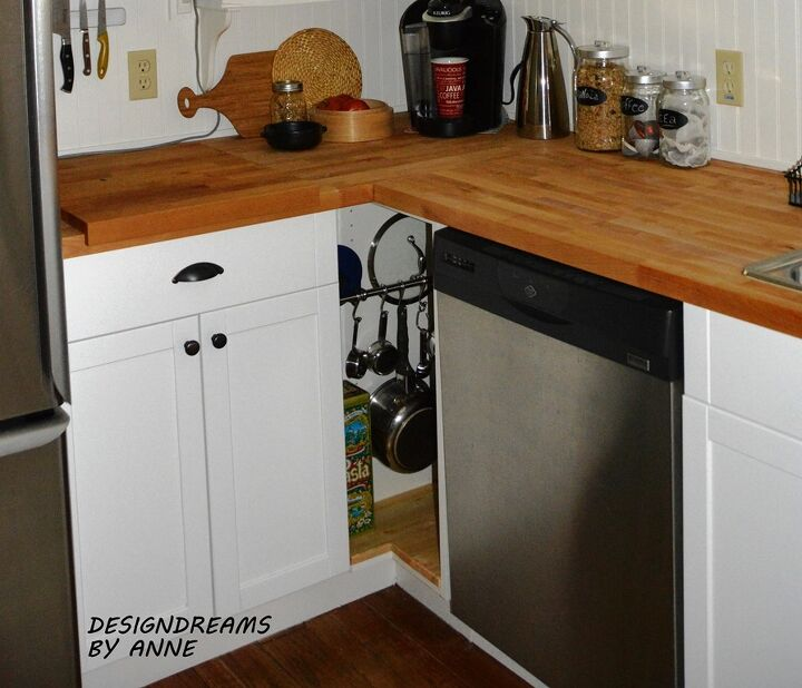 Corner Cabinets Kitchen. diy custom kitchen cabinet for a tiny corner  cabinets design DIY Custom Kitchen Cabinet Tiny Corner Hometalk