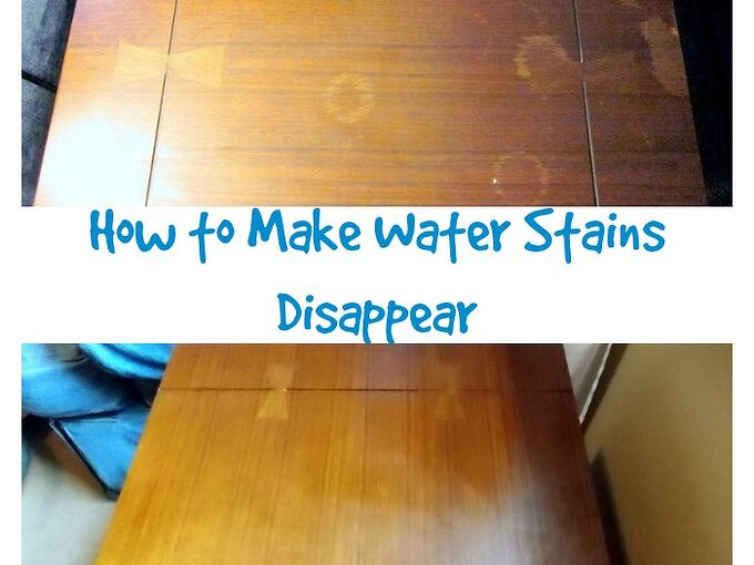 how to remove water stains from wood, cleaning tips, woodworking projects
