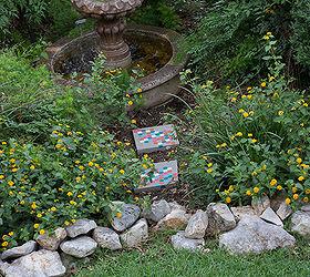 Stenciled Garden Stepping Stones Hometalk