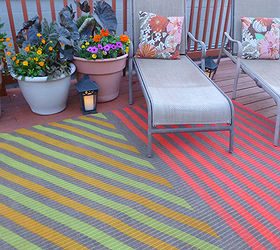 High Quality Diy Painted Outdoor Rug, Decks, Flooring, Outdoor Living, Painting