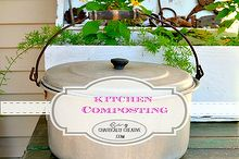 kitchen composting for beginners, composting, gardening, go green, homesteading