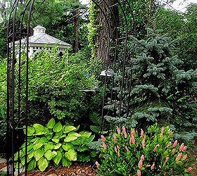 Shade Garden Arbor