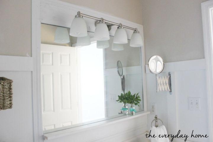Master Bathroom Fresh Makeover On A Budget