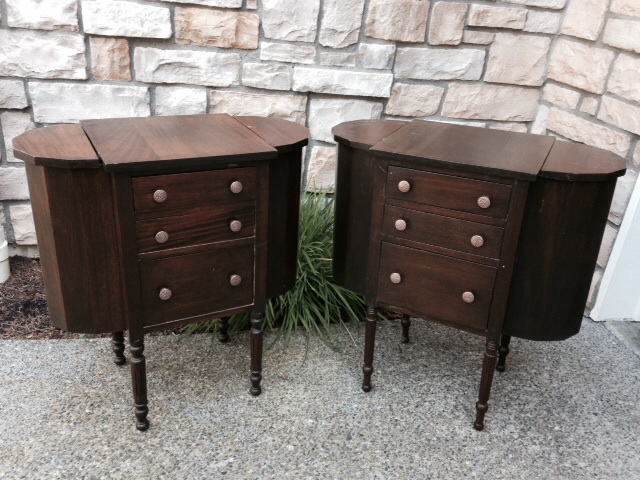Beautiful Vintage Sewing Cabinet Turned Porch Planter   Hometalk CJ24 - Antique Sewing Cabinets @RH01 – Roccommunity