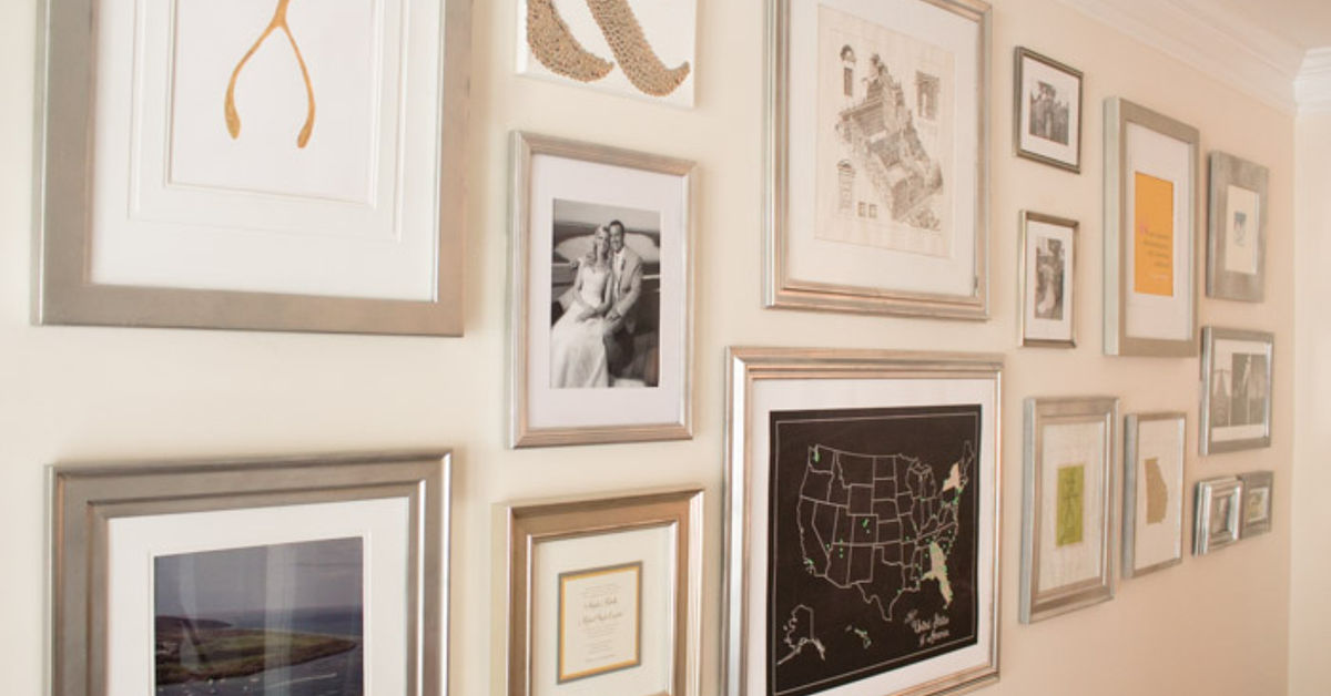 Create a Huge Gallery Wall for Less | Hometalk