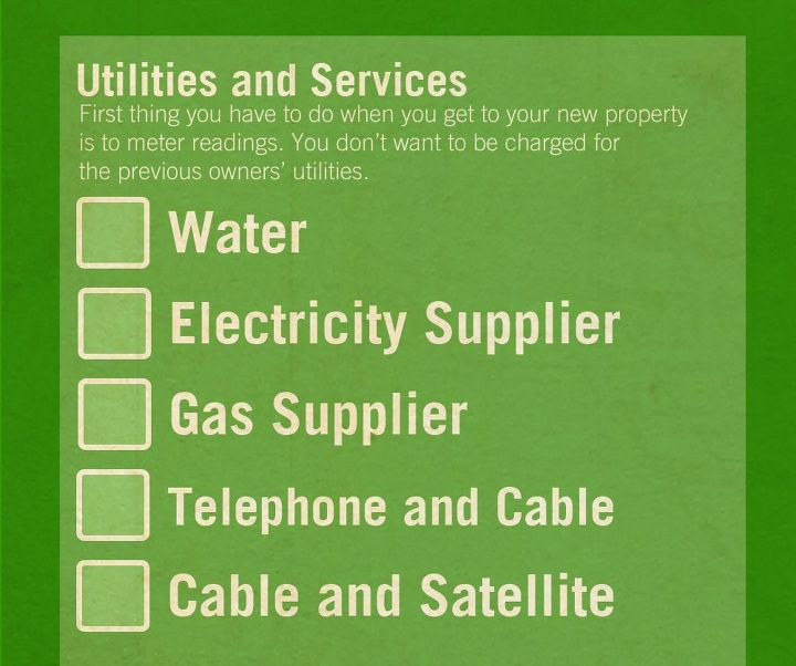 the change of address checklist hometalk