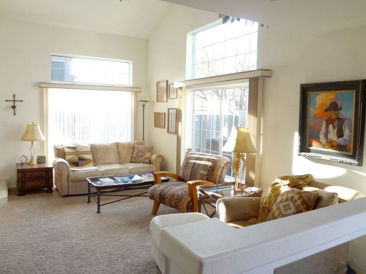 Home Remodel With New Floors And Paint Hometalk Classy Living Room Remodel Painting