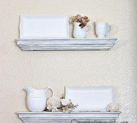 how to hang floating shelves hometalk rh hometalk com how to mount floating corner shelves how to mount floating shelves on wall
