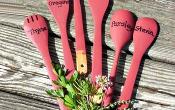 The Garden Charmers Garden Decor Made From Kitchen Utensils